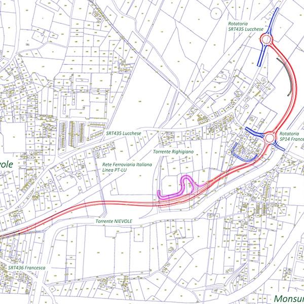 Nuova strada collegamento sr435 sr436